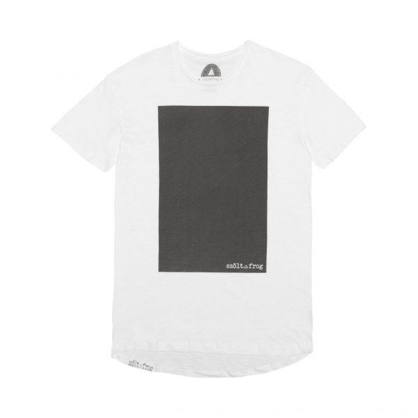 camiseta rectangulo negro