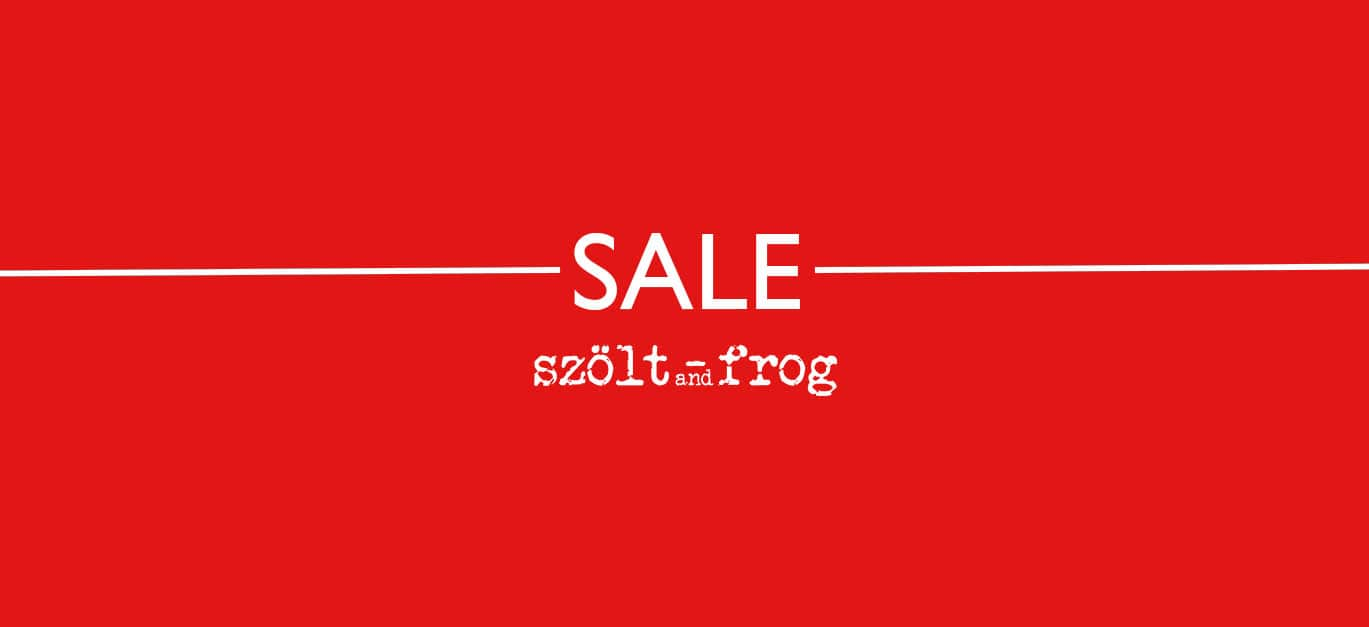 SALE SZOLT AND FROG