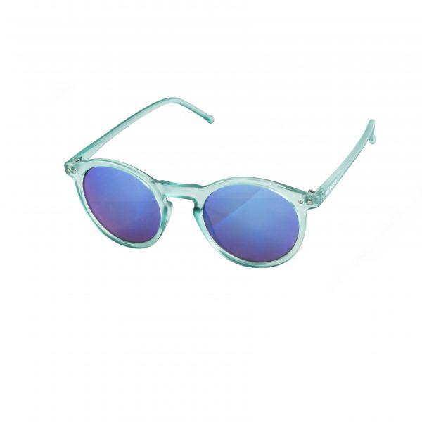 Gafas de sol azul transparente