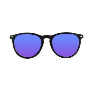 Gafas de sol negra cristales morados