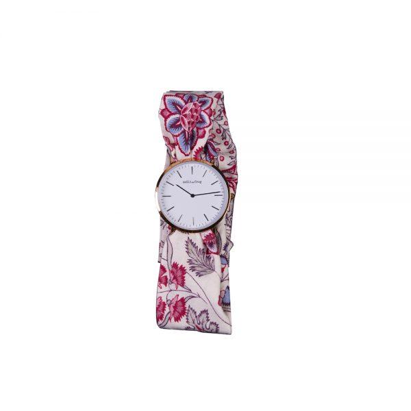 Reloj rosa correa rosa