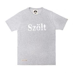 Camiseta estampada szolt gris