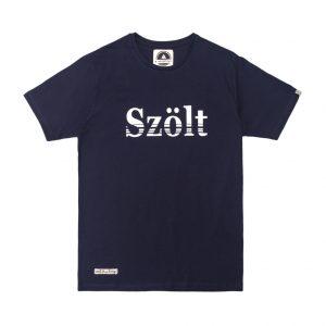 Camiseta estampada szolt azul