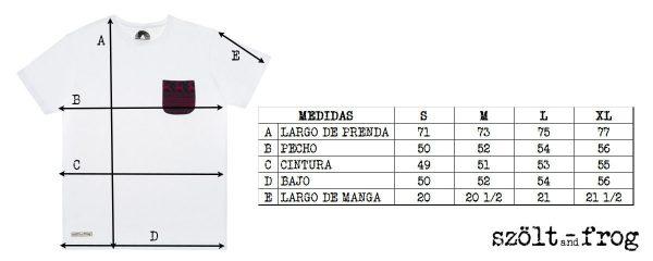Medidas camiseta navidad
