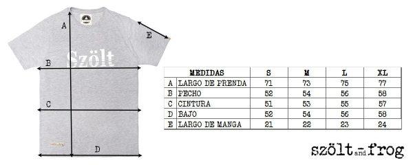 Medidas camiseta szolt
