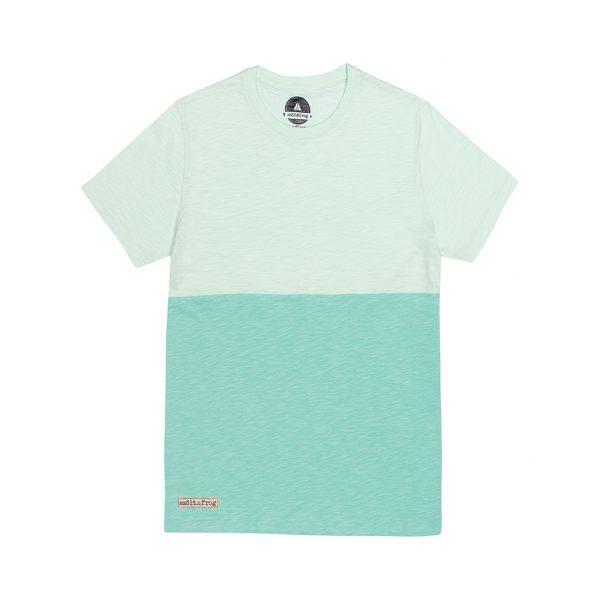 Camiseta Bicolor Verde