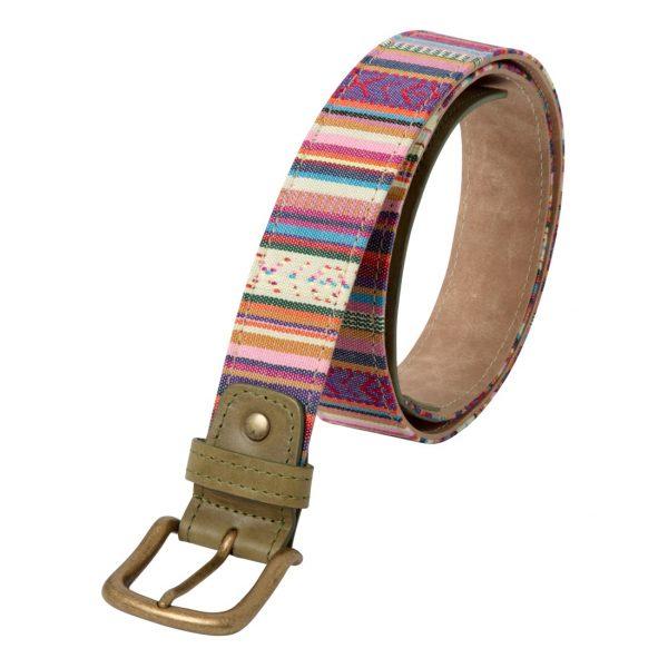 cinturones etnicos hombre