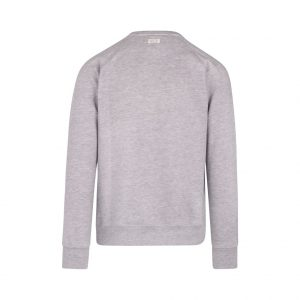gray sweatshirt with pocket