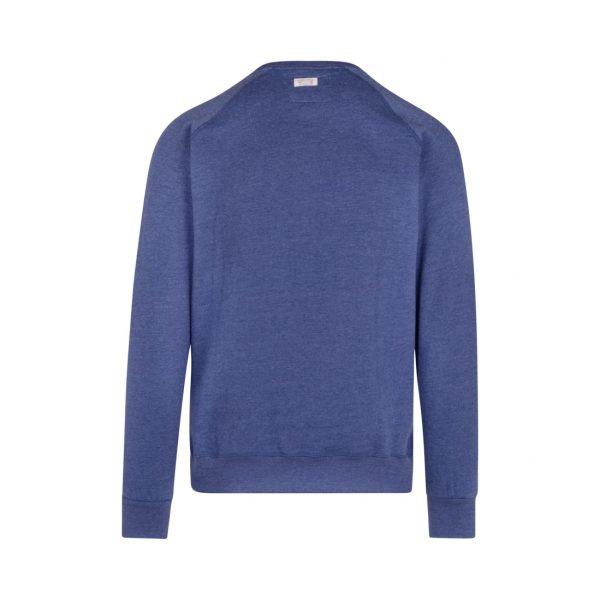 blue sweatshirt with pocket