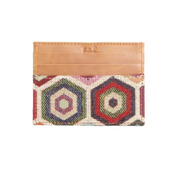 ethnic leather wallet