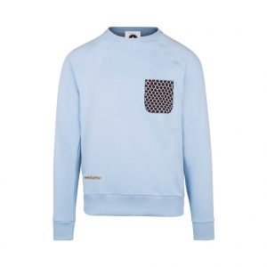 sky sweatshirt with pocket