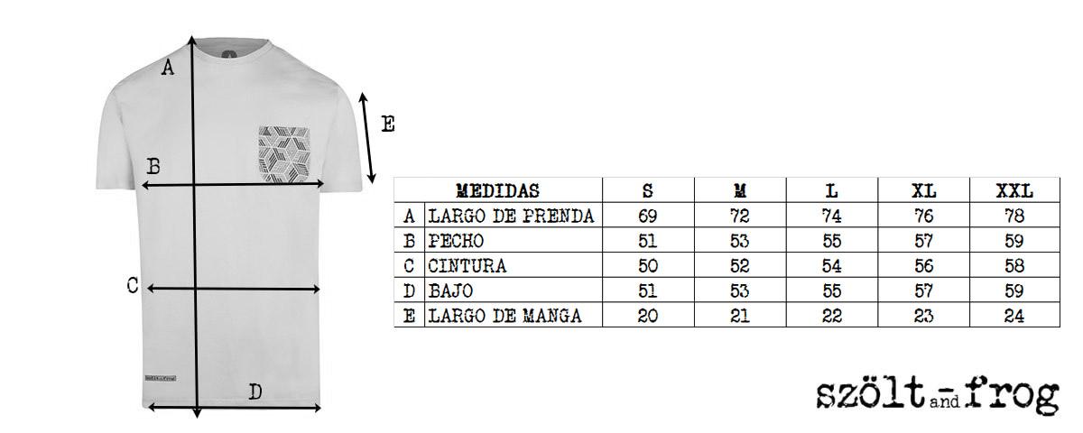 sizes szoltandfrog t-shirt