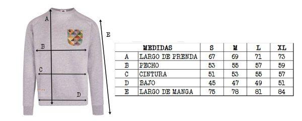size guide sweatshirts