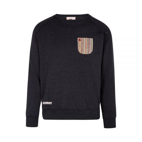 pocket-in-pocket sweatshirts