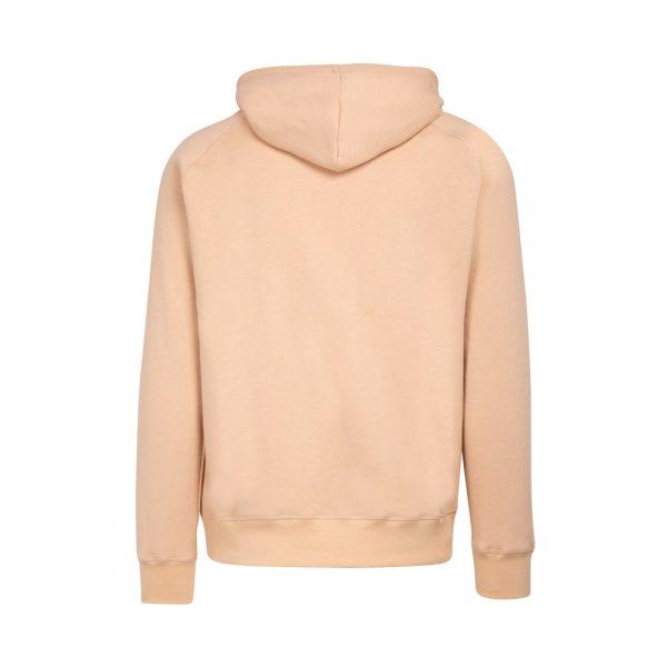 hoodie beige con bolsillo