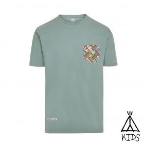 camiseta con bolsillo niño
