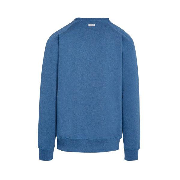 sudadera con bolsillo azul